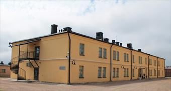 The office building of the Construction Establishment of Finnish Defence Admistration.