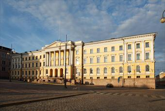 The Government Palace. Photo: Janne Suhonen/Prime Ministers Office
