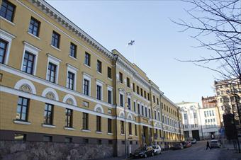 The office building of the Ministry of Defence.